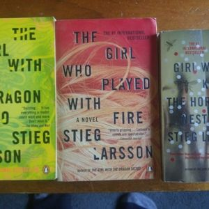 Girl With The Dragon Tattoo Series Books 1-3